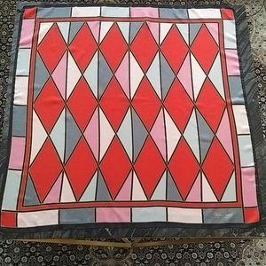 PALOMA PICASSO - large silk geometric scarf